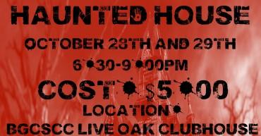 Live Oak Haunted House