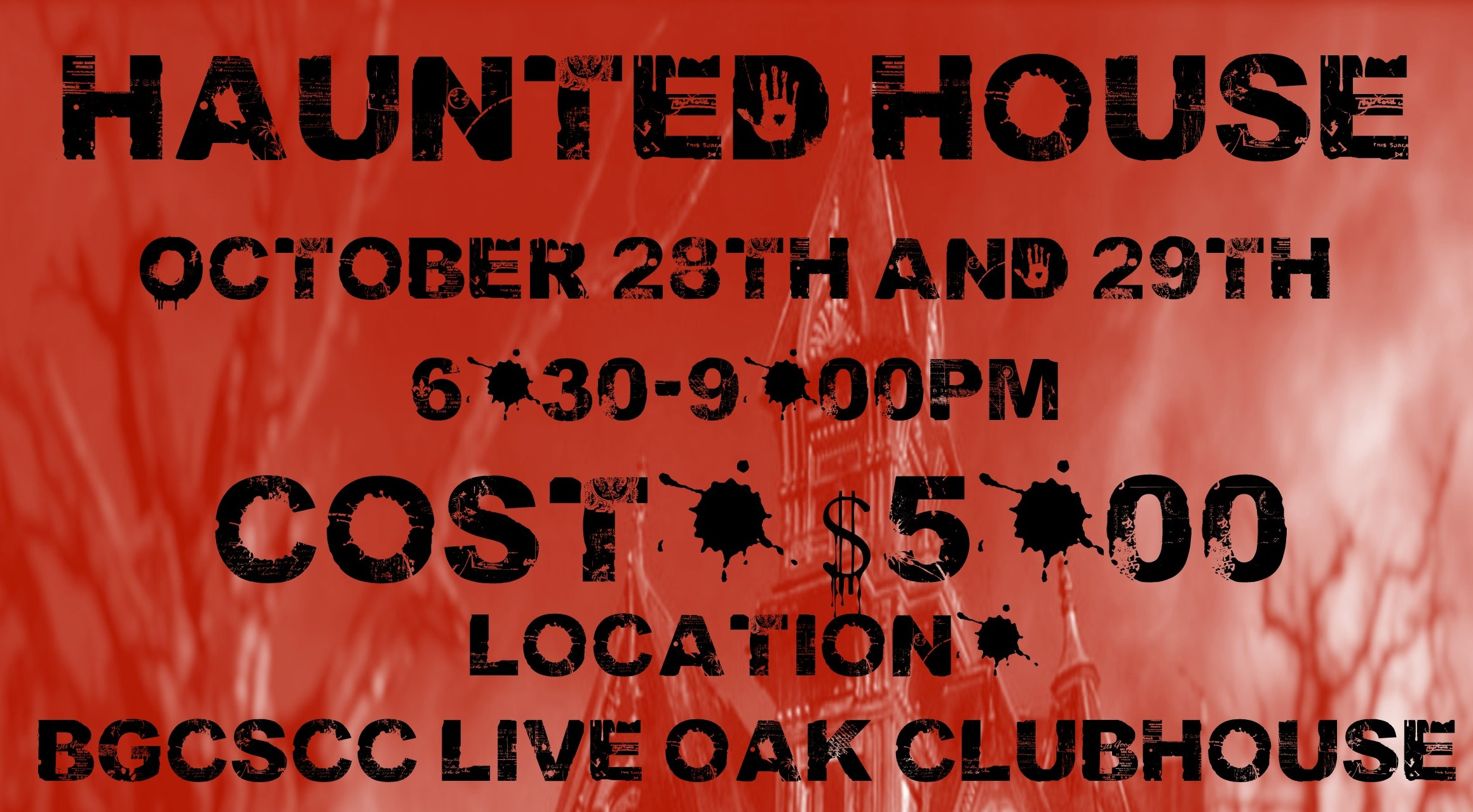Live Oak Haunted House